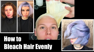 Download How to Bleach Hair Evenly Video