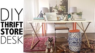 Download DIY Thrift Store Desk | Home Decor Video