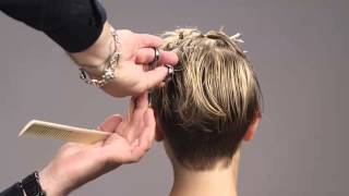 Download Sexy Hair Modern Hollywood Collection Short Hair Cut Video