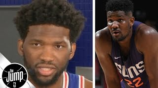 Download Joel Embiid on Deandre Ayton: 'He's about to get his a- kicked' | The Jump | ESPN Video