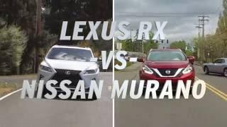 Download Lexus RX vs Nissan Murano - AutoNation Video