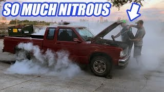 Download We Try To Blow Up The S10. Will It Survive HUGE Amounts Of Nitrous? Video