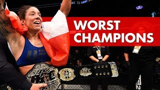 Download 10 Worst UFC Champions Video