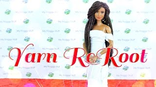 Download DIY - How to: Reroot Doll Hair With Yarn - Handmade - Crafts - 4K Video