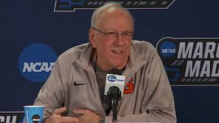 Download NCAA 2nd Round | Jim Boeheim Press Conference Video