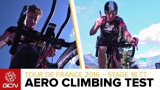 Download Does Getting Aero Help You To Climb Faster? Tour De France 2016 Stage 18 Time Trial Video