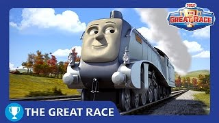 Download The Great Race: Spencer of UK | The Great Race Railway Show | Thomas & Friends Video