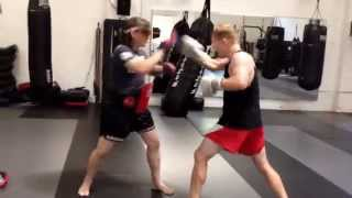 Download Combining Kickboxing styles at LAW MMA. Boxing, Dutch Kickboxing & Muay Thai Video