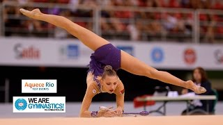 Download HIGHLIGHTS - 2016 Olympic Test Event, Rio (BRA) - Rhythmic Gymnastics Individual Final Video
