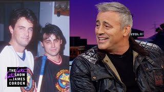 Download Matt LeBlanc Hockey Checks James Corden Video