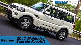 Download 2017 Mahindra Scorpio Facelift Review - Fast & Furious | MotorBeam Video