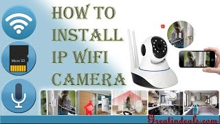 Download V380 Ip camera Unboxing , Installation & configuration Video