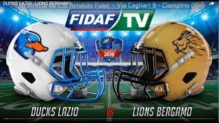 Download Live: DUCKS LAZIO - LIONS BERGAMO Video