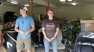 Download Setting Up Shop - Moving into The Garage Video