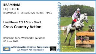 Download Bramham International Horse Trials: CCI-4 Star S Cross Country Action Video