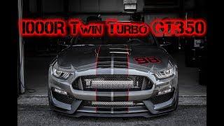 Download FatFab 1000R Twin Turbo GT350 Low Boost Dyno Pulls | 849 whp Video