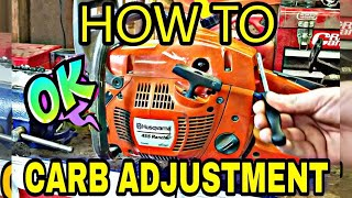 Download How To Actually Tune A Chainsaw! Video