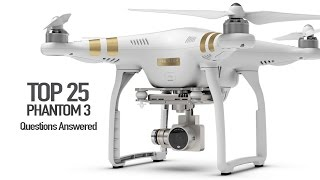 Download DJI Phantom 3 - Top 25 Questions, Answered!!! Video