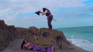 Download Pirate Jack Meets a Real-Life Mermaid on the Beach Video
