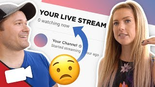 Download How To Live Stream when No One is Watching Video