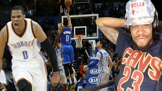 Download NASTIEST BUZZER-BEATER EVER! RUSSELL WESTBROOK TOP 10 DUNKS & PLAYS REACTION!! Video