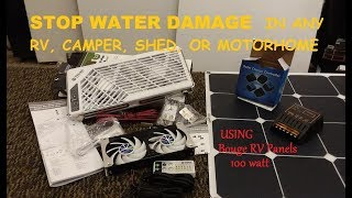 Download End water damage, mold, & rot in RV's with Solar & DIY Power venting Video