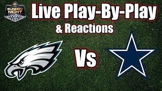 Download Eagles vs Cowboys | Live Play-By-Play & Reactions Video