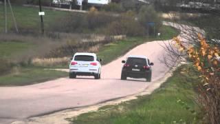 Download VW Touareg V10 vs Audi Q7 V8 4.2TDI Video