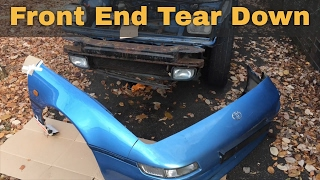 Download 1993 Toyota MR2 Project - Ep 2 - Window Fix and Front End Tear Down Video