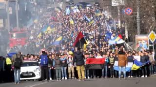 Download Фанаты Динамо и Днепра прошли маршем по Днепропетровску Video