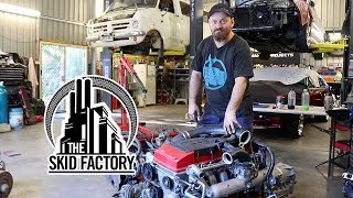 Download THE SKID FACTORY - Barra Powered Bedford Van [EP1] Video