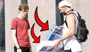 Download Making Strangers Choose Between Free Playstation & Free XBOX! Video