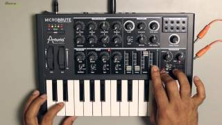 Download How to make Bass Sounds using Arturia MicroBrute Video