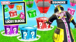 Download LUCKY BLOCKS *NEW* GAME MODE in Fortnite Battle Royale Video