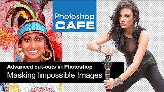Download Masking difficult images in Photoshop Tutorial Video