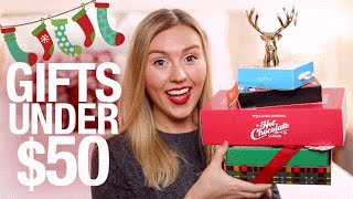 Download Holiday Gift Ideas + Stocking Stuffers UNDER $50 | Gift Guide 2015 Video