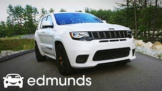 Download 2018 Jeep Grand Cherokee Trackhawk Review | Test Drive | Edmunds Video