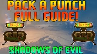 Download BO3 Zombies - How To Open Pack-A-Punch FULL Guide! (Shadows Of Evil) Video