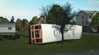 Download Tennessee school bus crash kills five children, more than two dozen others injured Video