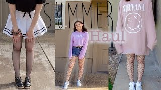 Download summer try-on haul (Forever21, H&M, Romwe) Video
