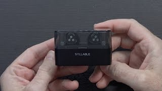 Download Completely Wireless Bluetooth Earbuds w/Charge Case | Syllable D900 Mini Video