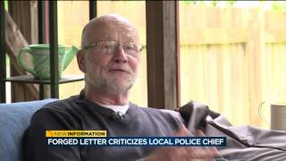 Download Forged letter criticizes local police chief Video