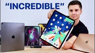 Download 2018 iPad Pro Unboxing! 11 & 12.9-inch, MacBook Air & Apple Pencil 2! Video