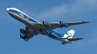 Download [4K] Big Cargo Planes Take-off and Landing at Amsterdam Airport Schiphol (EHAM,AMS) Video