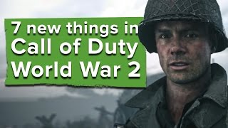 Download 7 new things in Call of Duty WW2 - Call of Duty WW2 gameplay Video