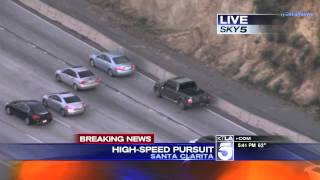 Download Police Pursuit - Hit-and-Run Suspect High Speed Pursuit SoCal February 23, 2015 Video