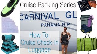 Download How to Pack - Check In Luggage - 7 Day Caribbean Cruise Video