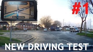Download Real Example #1 of New Test Route with Sat Nav - Driving Test Video