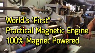 Download Selfstarting Magnet Motor 100% Magnet Powered Video
