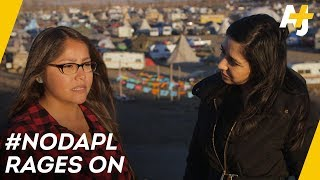 Download On The Front Lines, Fighting The Dakota Access Pipeline | Direct From With Dena Takruri - AJ+ Video